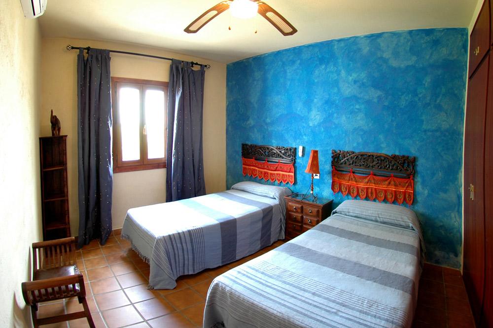 Habitación con dos camas kumara