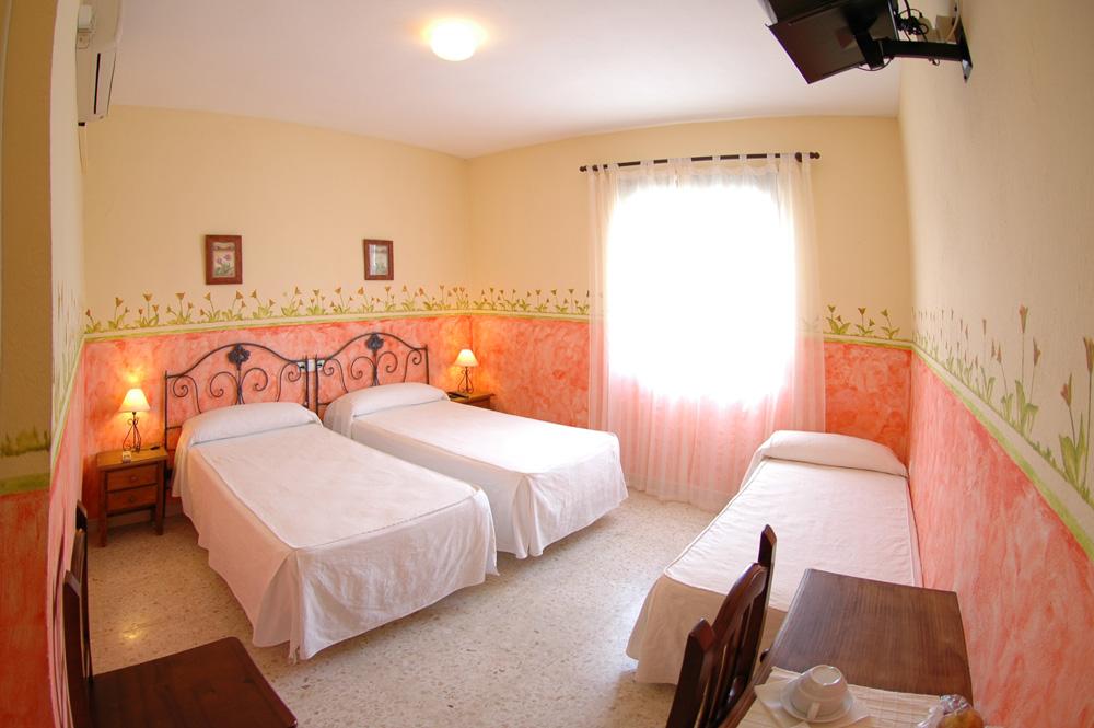 Hotel Posada Los Molinos. Habitación doble.