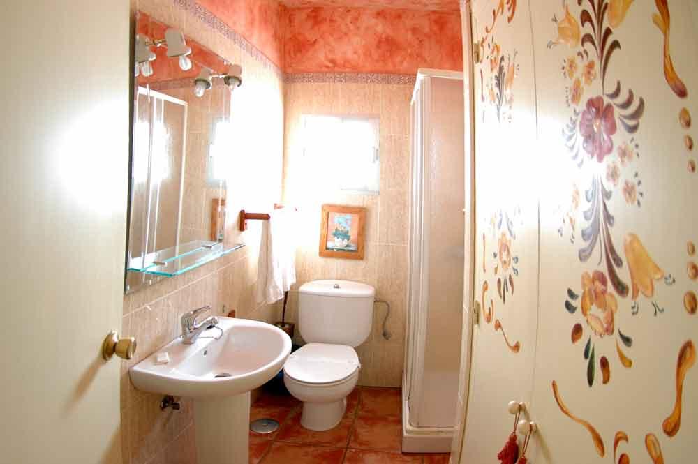 Hotel Posada Los Molinos. Baño.