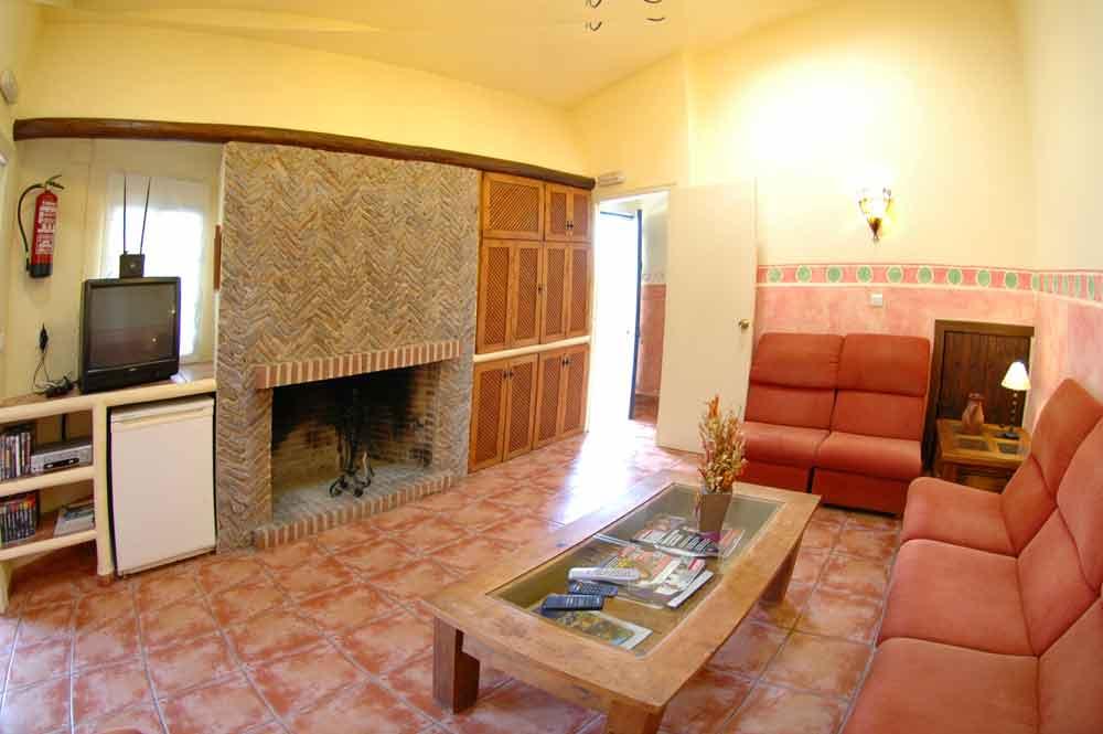 Hotel Los Molinos. Sala de estar de uso común.