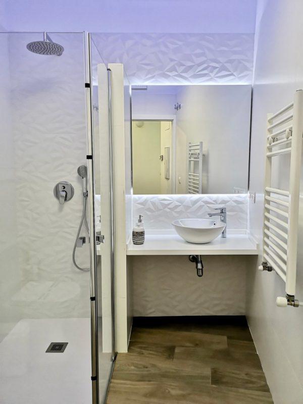 Baño casa rural Albireo
