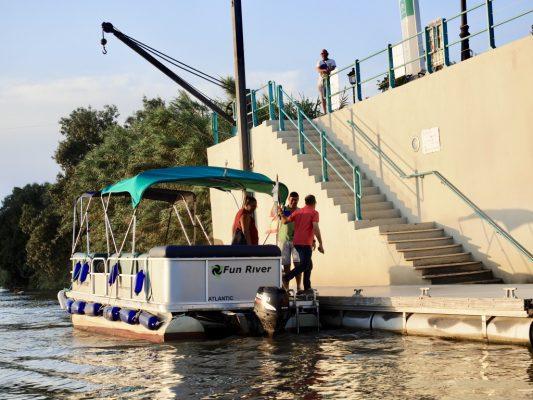 paseos en barco con fun river