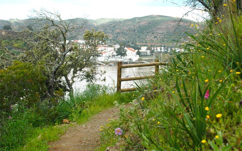 Ruta de senderismo Sanlúcar de Guadiana