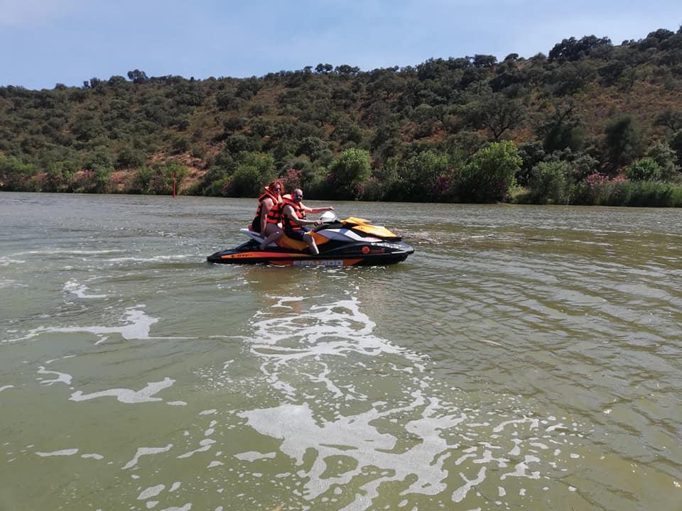 Guadiana Xtremme alquiler de motos de agua